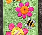 Quilt Spring Table Topper
