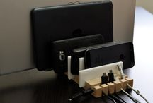 Multiple Ipad/ipod docking stations / by Susan Tobin