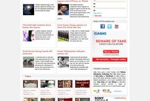 Latest News / Read all latest news from India & World on Politics, Business,Technology, Entertainment, Sports etc.