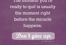 Transition #dontgiveup