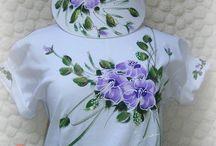 camisetas customizadas pintadas a mão