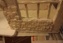 Construcción de Pisos, paredes y tejas en el Belén