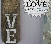 RUSTIC WOOD SIGNS