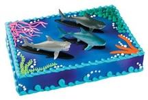 Shark cakes