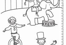 Circus thema / Welkom in het circus!