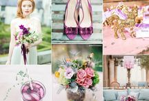 Radiant Orchid Weddings I Pantone Color of the Year 2014