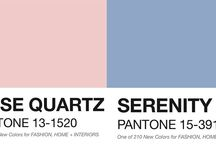 Årets farger / This year's colors / farge valg til hjemmet