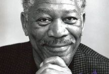 MORGAN FREEMAN / Because I want him to narrate my life and be my best firend
