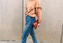 Volantes  - Ruffles / ¡¡Llegan las tendencias de otoño!! empezamos por una que no nos de pereza con estos calores -> Los volantes! http://chezagnes.blogspot.com/2016/09/volantes-ruffles.html #moda #fashion #trends #ruffles #volantes #streetstyle