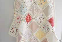 Crochet and sewing quilt
