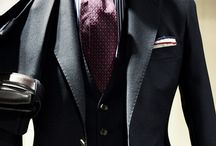Suits and man fashion