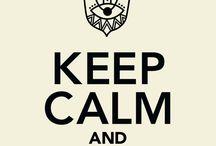 calm saying