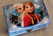 Frozen / Manualidades, cumpleaños, postres