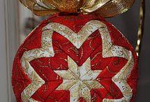 Patchwork - vianočné gule+ veľkonočné vajíčka