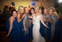 Royal Blues and I Dos - January 16, 2016 / Beautiful royal blues and magnolias for this winter wedding that took place Under the Oaks with a Reception to follow in Randolph's and the Pavilion on January 16, 2016. The Floral and decor was done by Sandy Leblanc, photography by Caitlin Hebert and wedding cake by Ambrosia Bakery.