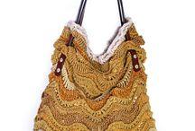 crochet bag / Kerajinan Rajut handmade