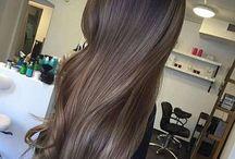Włosy, ombre