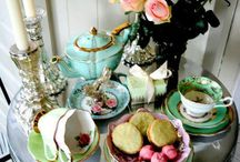 Fantasy Tea / The table I'd like to set, if I had the time and patience.  :^)