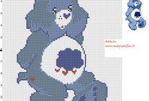 Cross-stitch---Care Bears