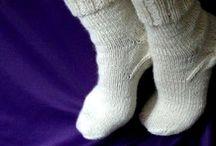 ponožky pletene