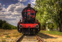 Trens e Locomotivas / Herdei de família o gosto por essas máquinas maravilhosas, curto bastante. Filha, sobrinha e neta de ferroviários, que cresceu escutando sobre tdo que envolve essas máquinas maravilhosas.