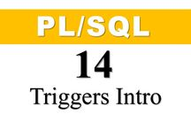 Database Triggers / Triggers in Oracle Database PL/SQL / All the PL/SQL tutorial on this board are about database triggers such as DML Triggers, DDL triggers, System Triggers, Instead-of Triggers with example