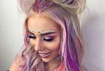 Festival/creative makeup