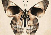 Vorlage Tattoo Skull
