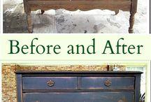 Mobilă  Before-after