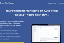 Facebook Auto Group Poster / Facebook Auto Group Poster Automate your Facebook GROUP Profile, Page and Group Posting! Automate your Facebook Marketing today and save 2+ hours each day by using an awesome tool called FB Groups Auto Poster Making money via Facebook has never been this easy.