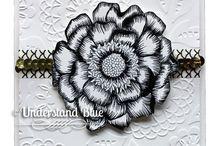 Blended Bloom Stampin' Up! Stamp Set a Greeting Cards