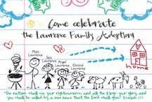 adoption celebration ideas / by Dottie