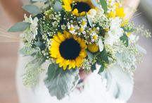 Sunflower | Wedding / Beautiful bright and warm Sunflowers. Amazing summer wedding flowers !
