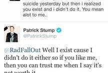 not so funny but great patrick tweets