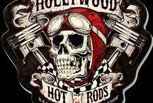 Hot Rod schedels