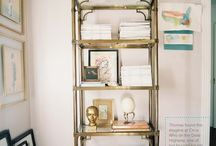 Interiors - Shelving / by Shannon Webster
