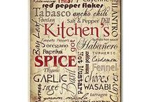 Kitchen Plaques