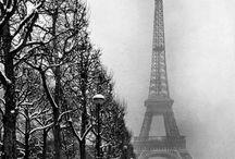zwart/foto's Parijs