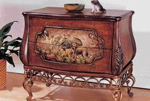 Fantastic Modern Bombe Chest
