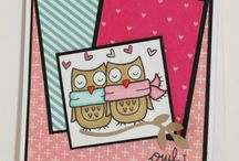 Lawn Fawn Cards / These are cards I made using Lawn Fawn Stamps.