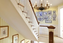 traditional stairs / wooden stairs, classis style stairs