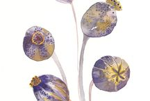 bloemen/e.d. geborduurd-quiltbloks