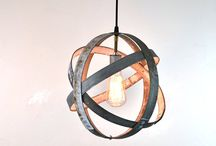 ATOM Lighting Collection / Our most popular design! ATOM wine barrel ring globe lighting