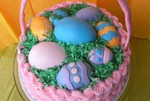 Easter Cakes / by Jo-Anne Touchette