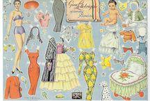 Prinsessa Razibor paperinuket,  paper dolls, klippdockor, påklædningsdukker