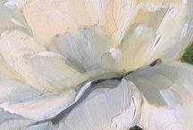 цветы и живопись