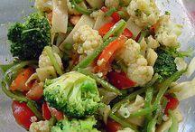 salada de legumes com curry