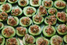 Asian tuna starters
