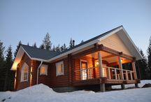 Log Houses and cabins / Log Houses and cabins