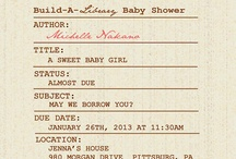Baby Shower / by Cindi Hedstrom